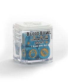 Games Workshop - GAW Blood Bowl - Lizardmen Team - Dice Set