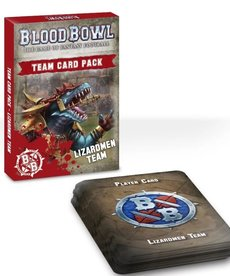 Games Workshop - GAW Blood Bowl - Lizardmen Team - Team Card Pack