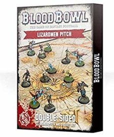 Games Workshop - GAW Blood Bowl - Lizardmen Team - Lizardmen Pitch