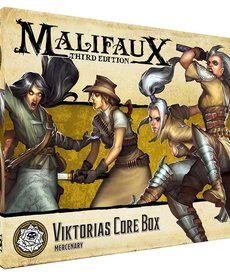 Wyrd Miniatures - WYR Malifaux 3E - Outcasts - Viktorias Core Box