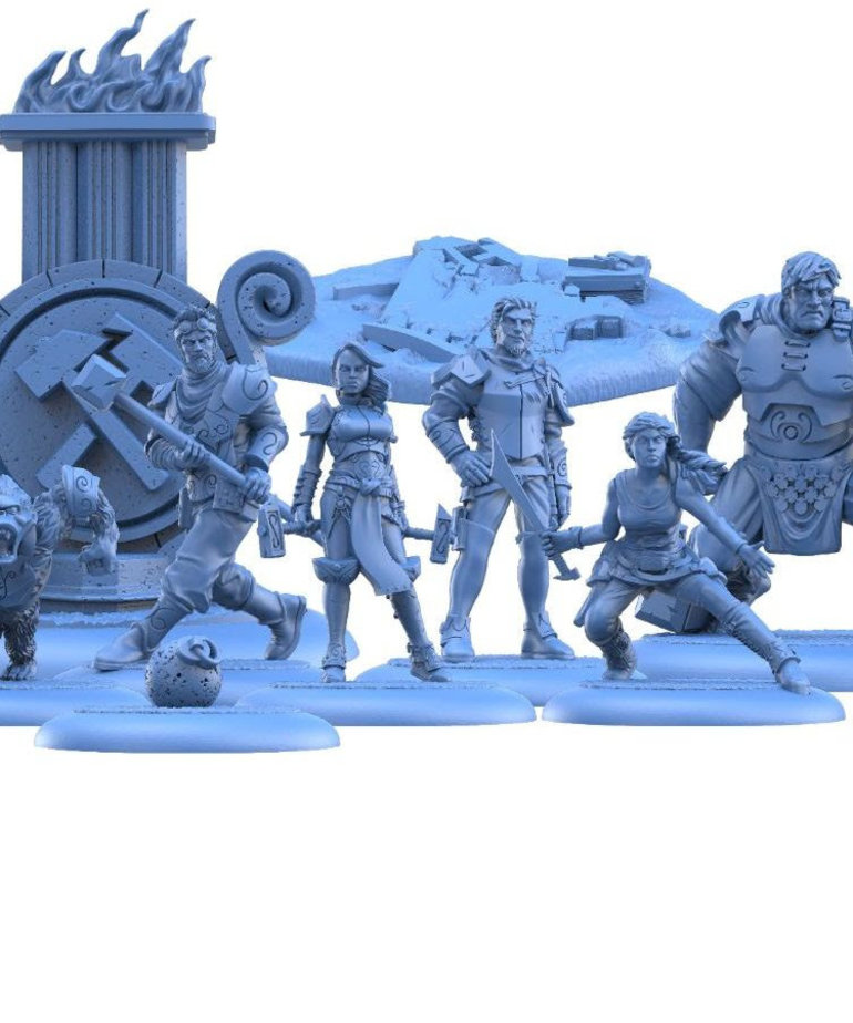 Steamforged Games LTD - STE Guild Ball - Mason's Guild: Solid Foundations