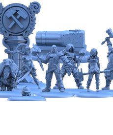 Steamforged Games LTD - STE Guild Ball - Mason's Guild: The Punishing March