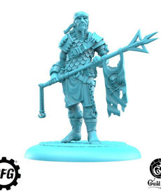 Steamforged Games LTD - STE Guild Ball - Fisherman's Guild - Veteran Sakana - Squaddie