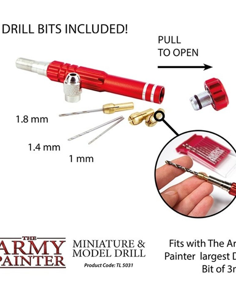 The Army Painter - AMY The Army Painter: Hobby Tools - Miniature & Model Drill