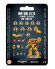 Games Workshop - GAW Warhammer 40K - Imperial Fists - Primaris Upgrades and Transfers