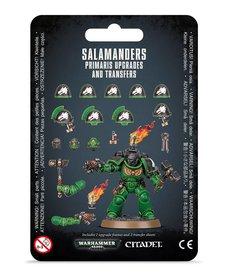Games Workshop - GAW Salamanders - Primaris Upgrades and Transfers