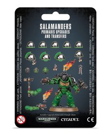 Games Workshop - GAW Salamanders - Primaris Upgrades & Transfers