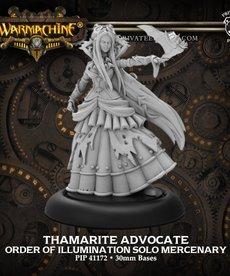 Privateer Press - PIP Warmachine - Mercenaries - Thamarite Advocate - Morrowan Solo
