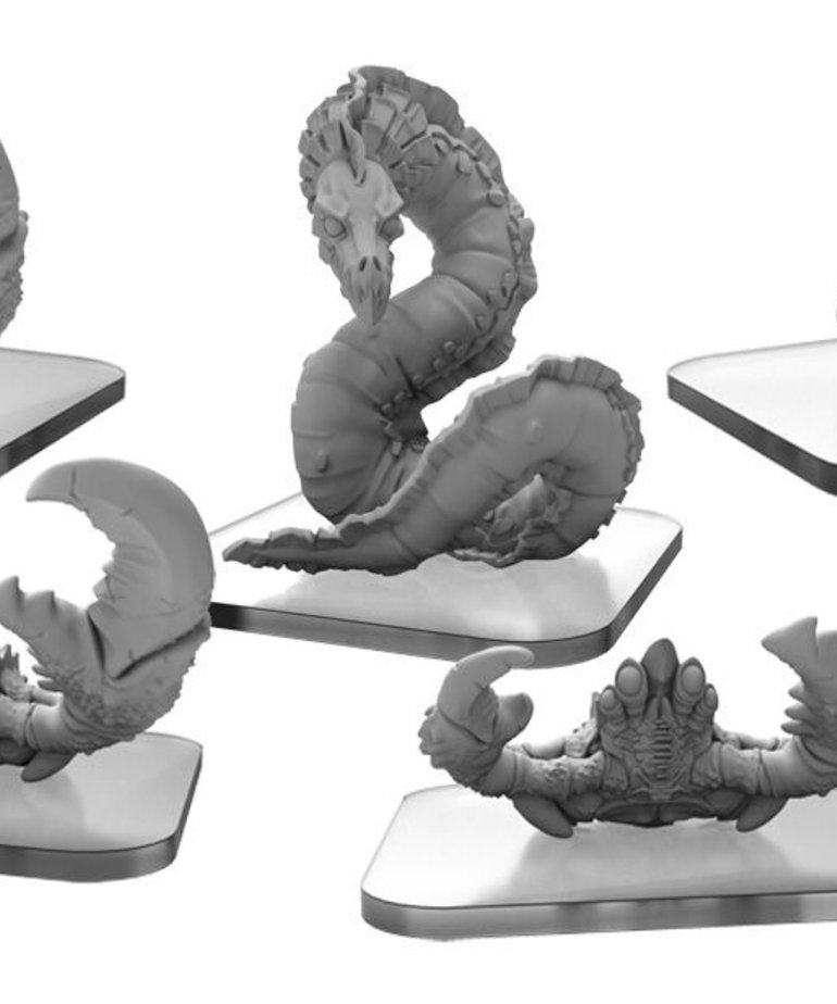 Privateer Press - PIP Monsterpocalypse - Tritons - Steel Shell Crabs and Psi-Eel - Unit Expansion 1