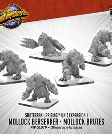 Privateer Press - PIP Monsterpocalypse - Subterran Uprising - Mollock Berserker & Mollock Brutes - Unit Expansion 1