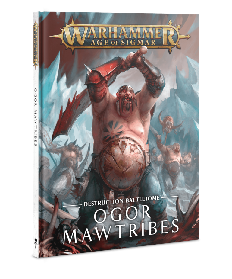 Games Workshop - GAW Warhammer Age of Sigmar - Destruction Battletome: Ogor Mawtribes