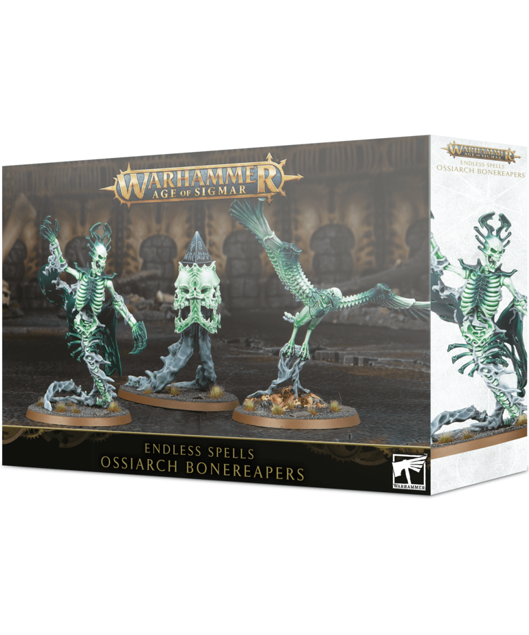 Games Workshop - GAW Warhammer Age of Sigmar - Endless Spells: Ossiarch Bonereapers