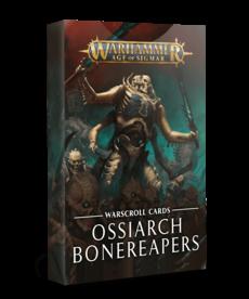 Games Workshop - GAW Warhammer Age of Sigmar - Warscroll Cards: Ossiarch Bonereapers