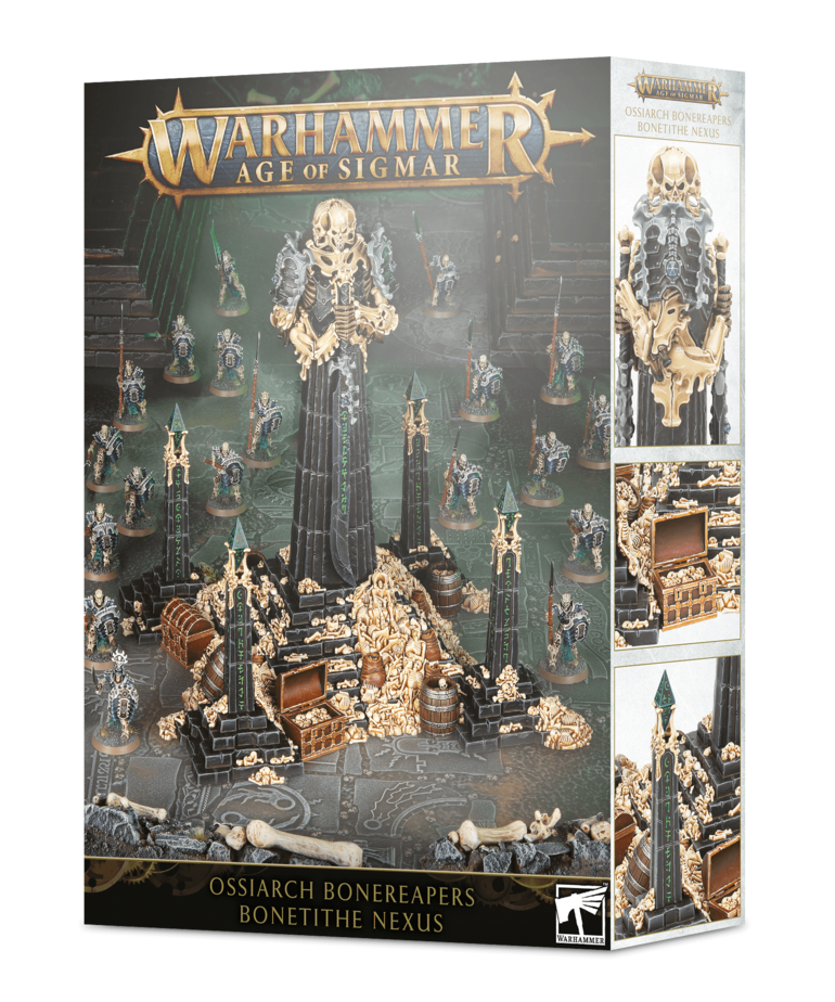 Games Workshop - GAW Warhammer Age of Sigmar - Ossiarch Bonereapers - Bonetithe Nexus