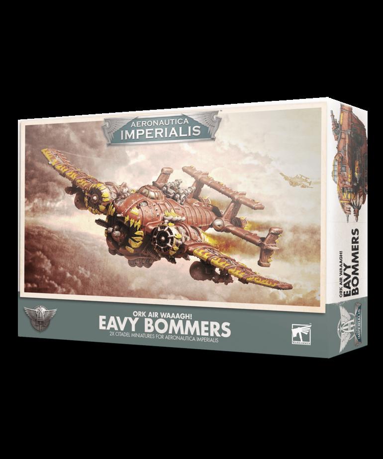 Games Workshop - GAW Aeronautica Imperialis - Ork Air Waaagh! - Eavy Bommers