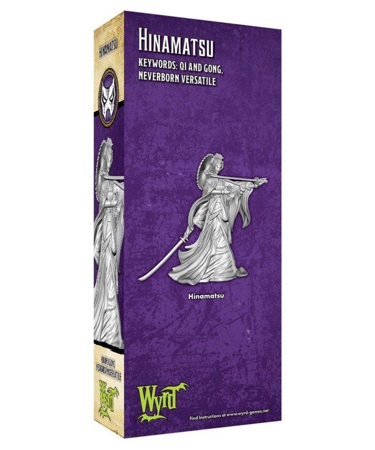 Wyrd Miniatures - WYR Malifaux 3E - Neverborn - Hinamatsu