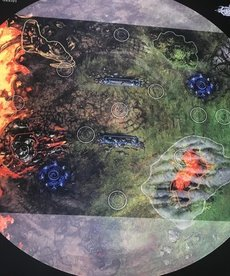 Gunmeister Games - GRG Judgement - Gaming Mat - Scorched Earth - 5v5