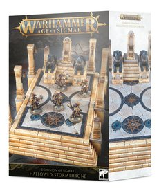 Games Workshop - GAW Warhammer Age of Sigmar - Dominion of Sigmar - Hallowed Stormthrone - 11/09/2019