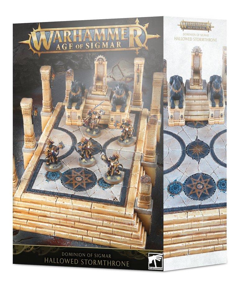 Games Workshop - GAW Warhammer Age of Sigmar - Dominion of Sigmar - Hallowed Stormthrone - 11/09/2019