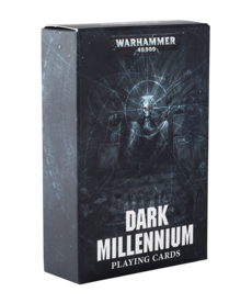 Games Workshop - GAW Warhammer 40K - Dark Millennium - Playing Cards