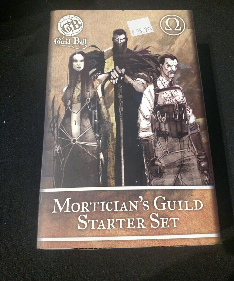 Steamforged Games LTD - STE Guild Ball - Mortician's Guild Starter Set BLACK FRIDAY NOW