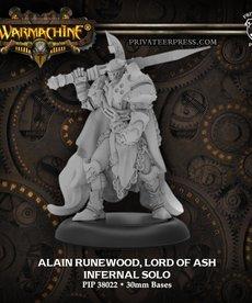 Privateer Press - PIP Alain Runewood, Lord of Ash (Runewood 2)