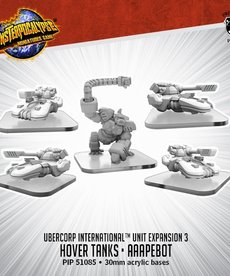 Privateer Press - PIP Monsterpocalypse - UberCorp International - U-Tanks and AAApebot - Unit Expansion 3