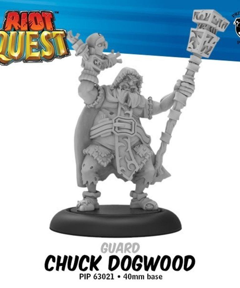 Privateer Press - PIP Riot Quest - Chuck Dogwood - Guard