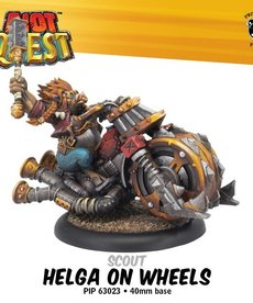 Privateer Press - PIP Riot Quest - Helga on Wheels - Scout