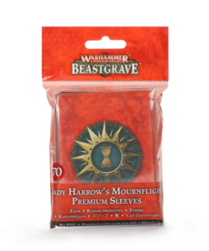 Games Workshop - GAW Warhammer Underworlds: Beastgrave - Lady Harrow's Mournflight - Premium Sleeves