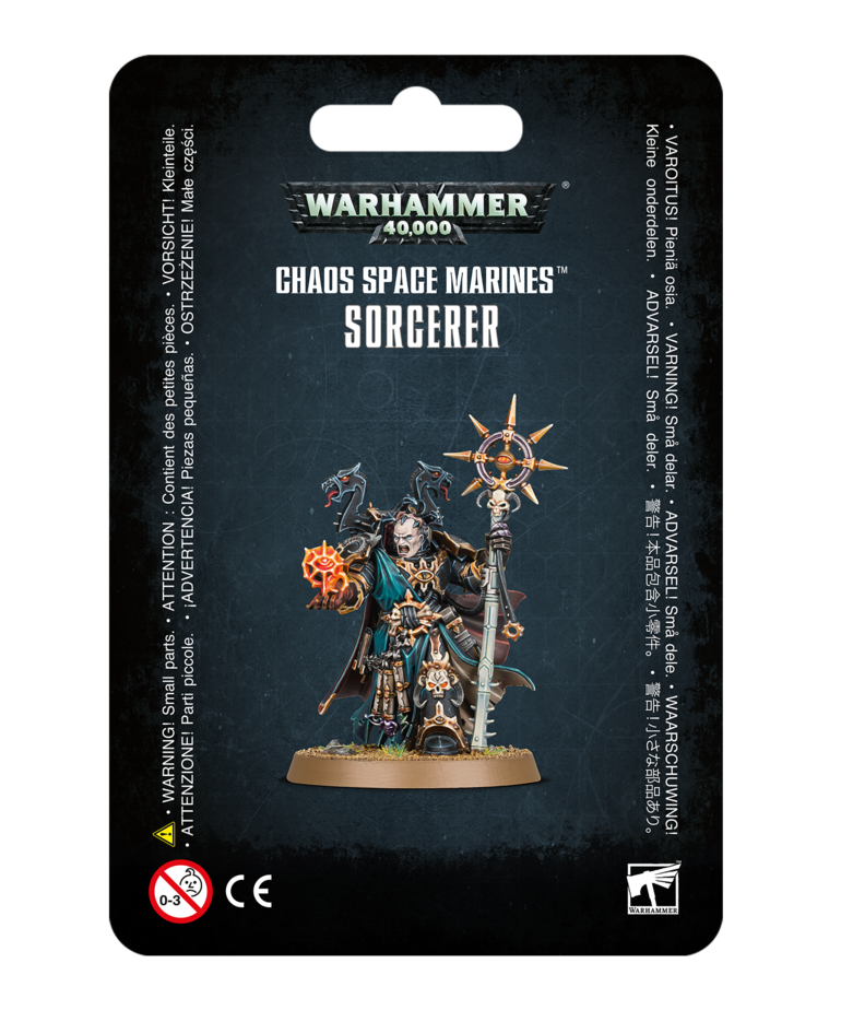 Games Workshop - GAW Warhammer 40K - Chaos Space Marines - Sorcerer