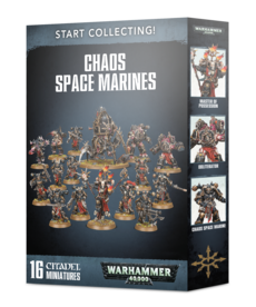 Games Workshop - GAW Warhammer 40K - Start Collecting!: Chaos Space Marines