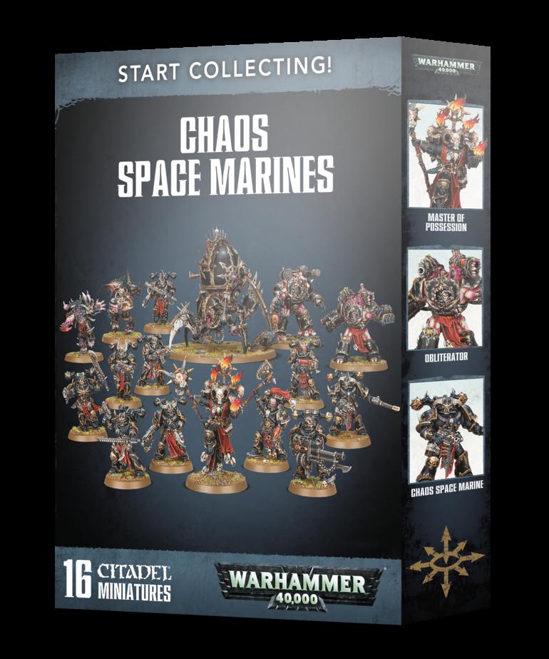 Games Workshop - GAW Warhammer 40K - Start Collecting!: Chaos Space Marines