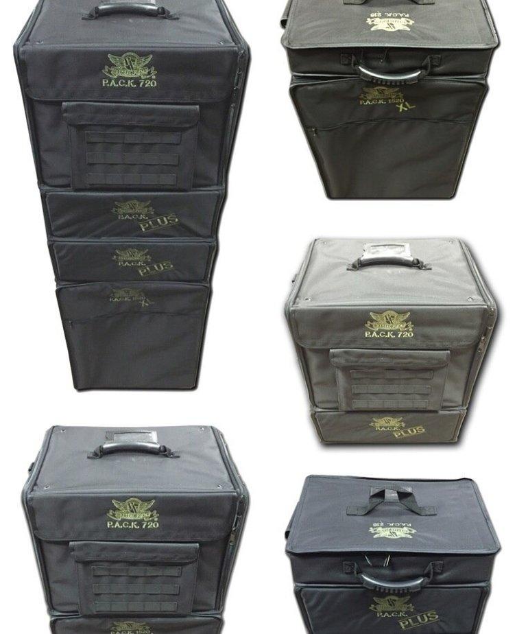 Battle Foam - BAF Battle Foam: Bags - Universal - P.A.C.K. 720 Molle - Pluck Foam Load Out - Black  BLACK FRIDAY NOW