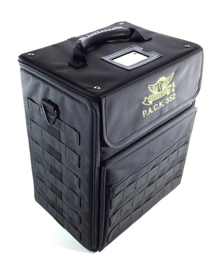 Battle Foam - BAF Battle Foam: Bags - Universal - P.A.C.K. 352 Molle - Standard Load Out - Black