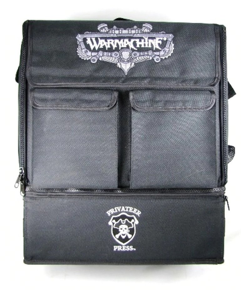 Battle Foam - BAF Battle Foam: Bags - Privateer Press - P3 Paint Bag - Black (Empty) BLACK FRIDAY NOW