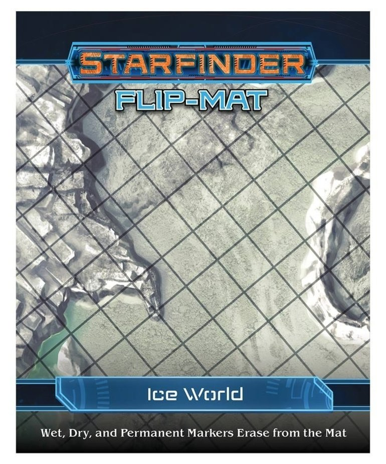 Paizo, Inc. - PZO Starfinder - Flip-Mat - Ice World