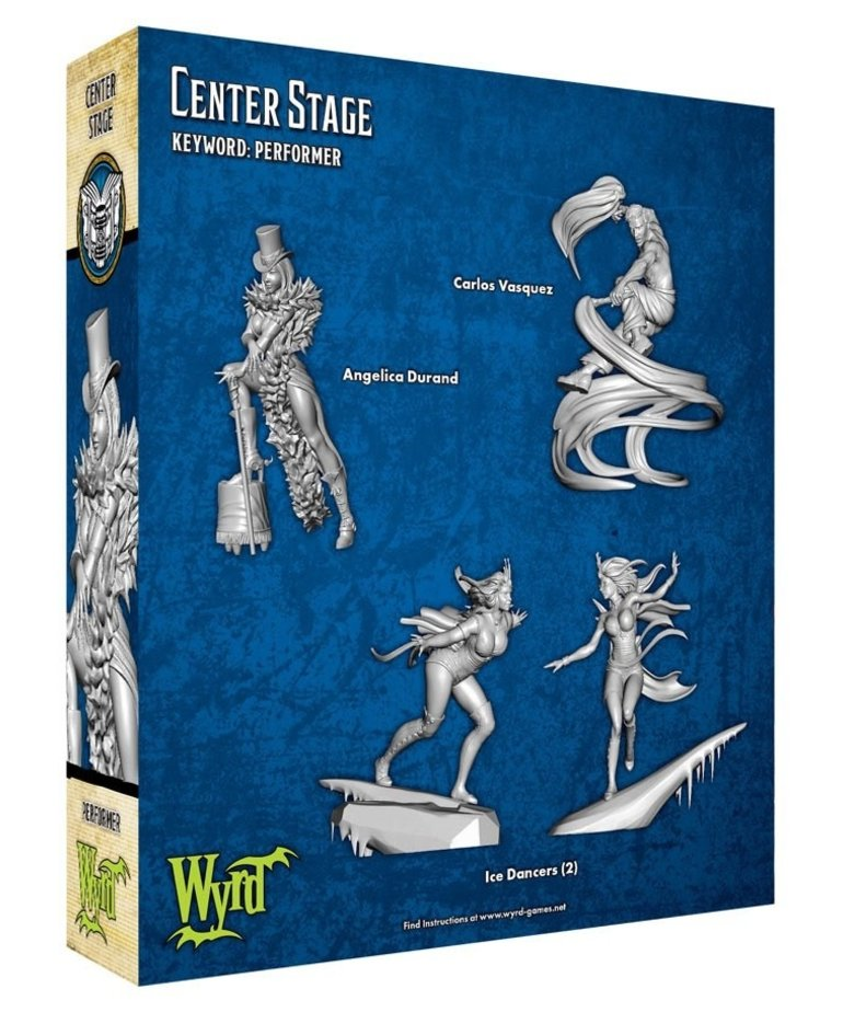 Wyrd Miniatures - WYR Malifaux 3E - Arcanists - Center Stage