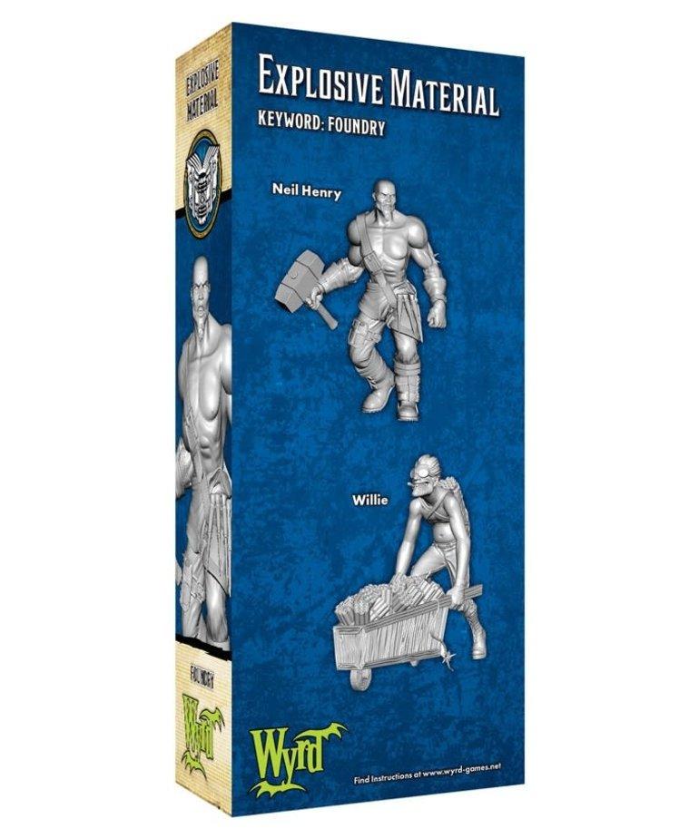 Wyrd Miniatures - WYR Malifaux 3E - Arcanists - Explosive Material