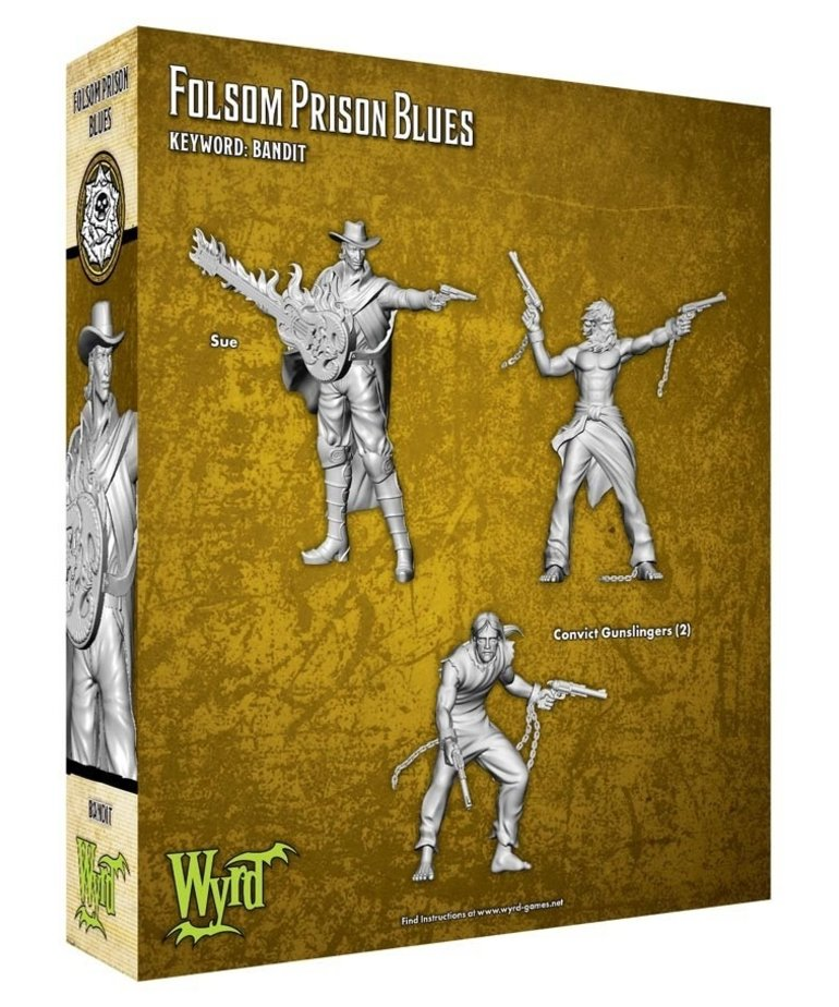 Wyrd Miniatures - WYR Malifaux 3E - Outcasts - Folsom Prison Blues