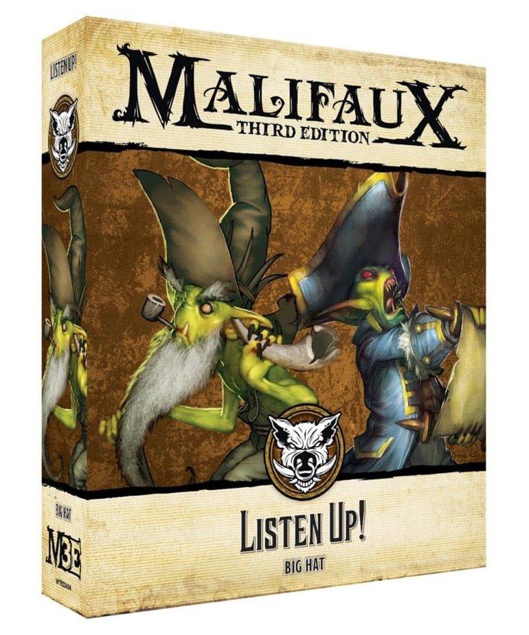 Wyrd Miniatures - WYR Malifaux 3E - Bayou - Listen Up!