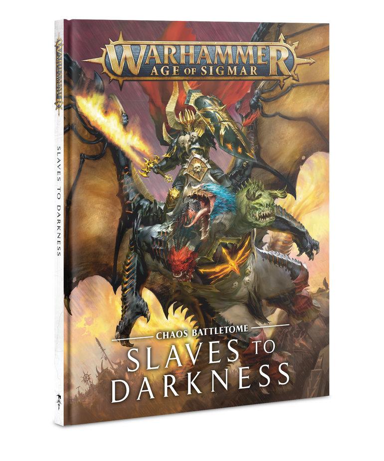 Games Workshop - GAW Warhammer Age of Sigmar - Chaos Battletome: Slaves to Darkness
