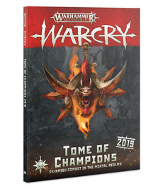 Games Workshop - GAW Warhammer Age of Sigmar: Warcry - Tome of Champions 2019