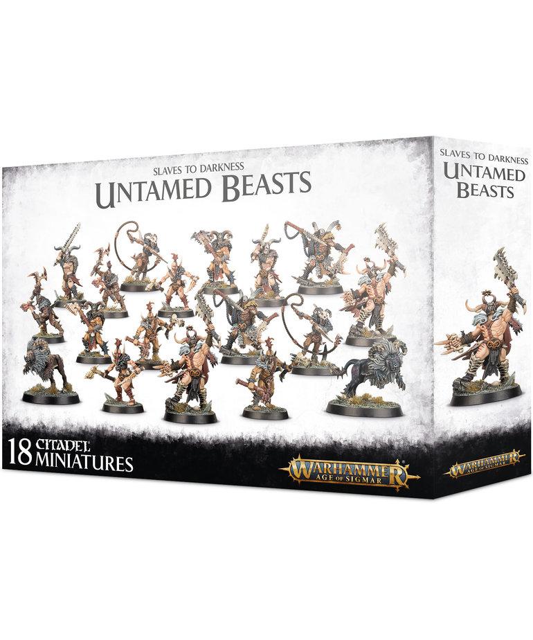Games Workshop - GAW Warhammer Age of Sigmar - Slaves to Darkness - Untamed Beasts