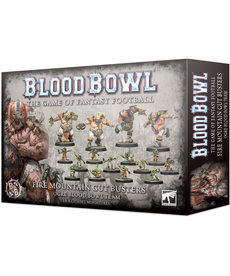 Games Workshop - GAW Blood Bowl - Ogre Team - Fire Mountain Gut Busters