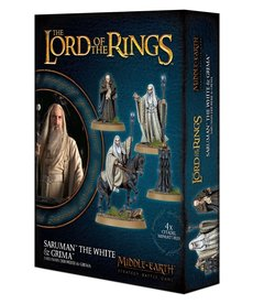 Games Workshop - GAW Saruman the White & Grima