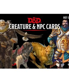 Gale Force Nine - GF9 D&D 5E - Creature & NPC Cards