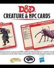 Gale Force Nine - GF9 D&D 5E - Creature & NPC Cards