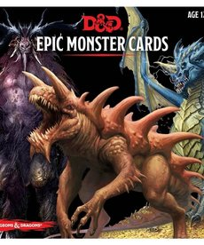 Gale Force Nine - GF9 D&D 5E - Epic Monster Cards