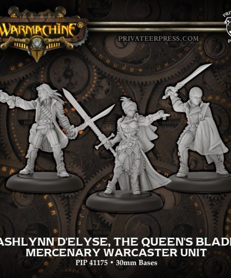Privateer Press - PIP Warmachine - Mercenaries - Ashlynn d'Elyse, the Queen's Blade - Warcaster Unit (Ashlynn 2)